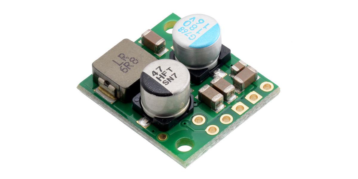pololu 12v, 2 4a step down voltage regulator d36v28f12