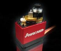 Power HD mini digital servo HD-1810MG: metal gear train and ball bearing.