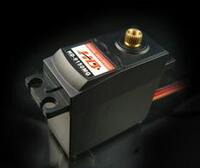 Power HD digital servo HD-9150MG with view of metal output spline.