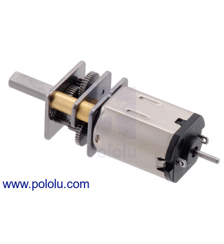 Pololu - 6V Low-Power (LP) Micro Metal Gearmotors