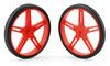 Pololu Wheel 70×8mm Pair - Red