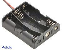 3-AA Battery Holder