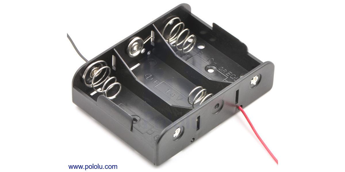 Pololu - 3-C battery h...
