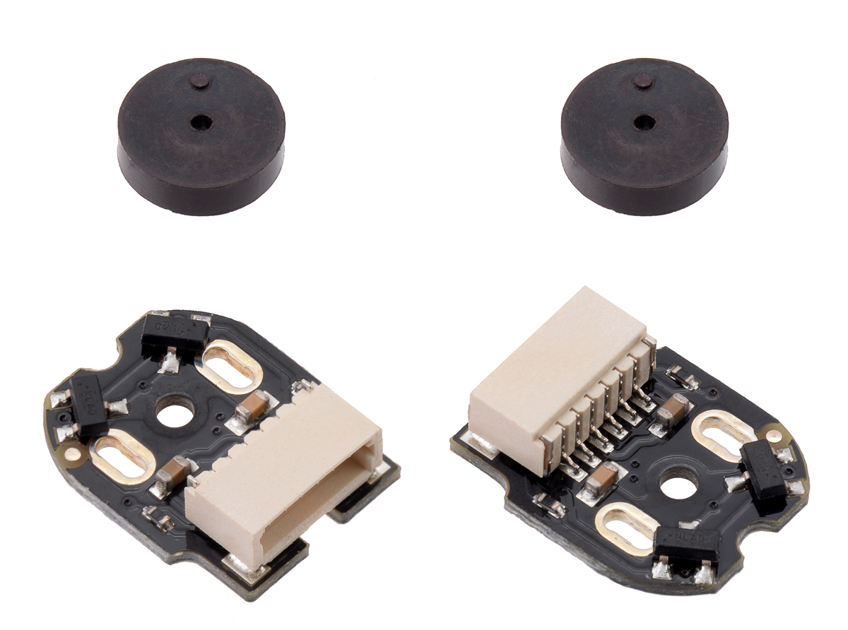 encoder 7 pole wiring diagram pololu magnetic encoder pair kit with side entry connector for  pololu magnetic encoder pair kit with