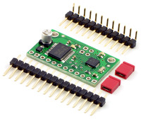 Qik 2s9v1 dual serial motor controller with included hardware.