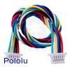 6-Pin Female-Female JST SH-Style Cable 25cm