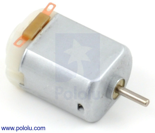 New product: 130-size, high-power brushed DC motor