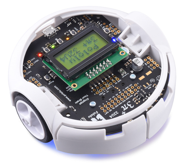 Our newest robot, 3pi+, is here—Arduino-compatible, USB, encoders, full IMU and more!