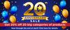 20th Anniversay Sale