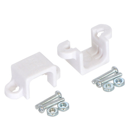 Pololu Stamped Aluminum L-Bracket Pair for Plastic Gearmotors 2670