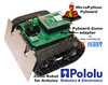 Zumo adapter for MicroPython Pyboard by MCHobby