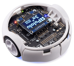 3pi+ 32U4 OLED Robot.