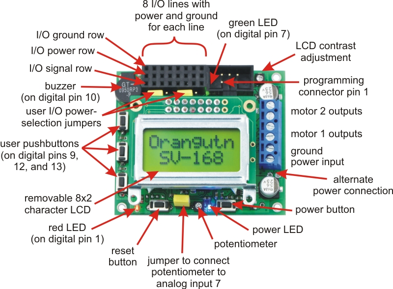 Pololu - Programming Orangutans and the 3pi Robot from the
