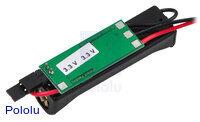 Bodhilabs VPack3.3V 1-AAA battery holder w/ 3.3V regulator back.