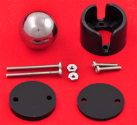 Pololu ball caster with 3/4 inch metal ball with included hardware.