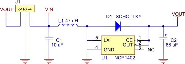 Temperature Voltage Converter Circuit Diagram