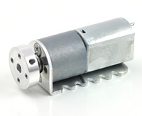 Pololu 20D mm gearmotor with bracket and hub.