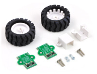 Pololu 42×19mm Wheel and Encoder Set