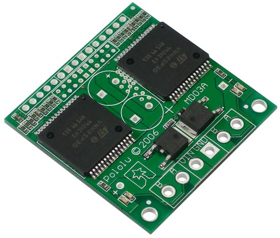 Pololu - Dual VNH2SP30 Motor Driver Carrier MD03A