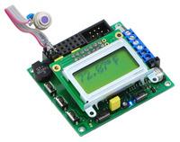 MLX90614 temperature sensor connected to an Orangutan SV-168.