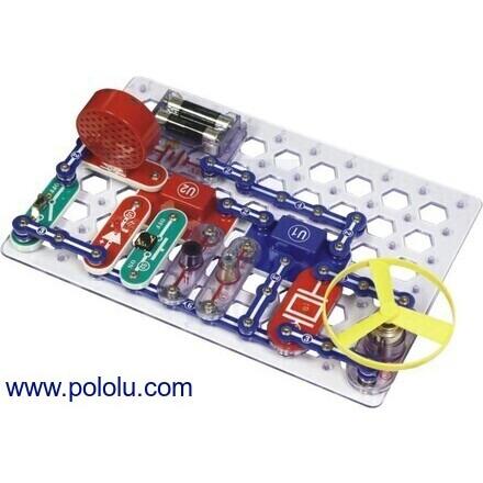 pololu educational kits120 Projucts Diy Kits Integrated Circuit Building Blocks Snap Circuit #16