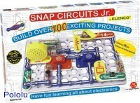 Snap Circuits Jr. 100-in-1 box.