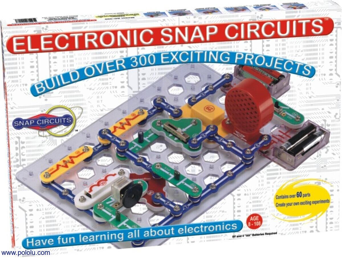 Pololu Snap Circuits Jr 100 In 1 Sc Fm Radio Kit Ebay 300 One Box