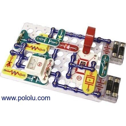 pololu educational kits120 Projucts Diy Kits Integrated Circuit Building Blocks Snap Circuit #12