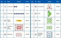 Additional parts included with Snap Circuits 500-in-1 Pro.