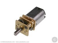 Solarbotics GM14a 298:1 Mini Metal Gear Motor