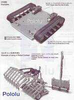 Instructions for Tamiya 70172 Universal Plate L (210×160 mm) page 2.