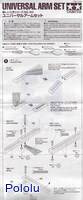 Instructions for Tamiya 70143 Universal Arm Set page1.