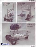 Examples using Tamiya 70164 Universal Metal Joint Parts (4pcs.).