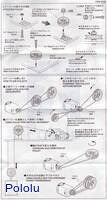 Instructions for Tamiya 70140 Pulley (S) Set page 2.