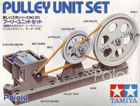 Box front for Tamiya 70121 Pulley Unit Set.