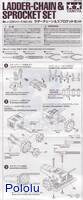 Instructions for Tamiya 70142 Ladder-Chain & Sprocket Set page1.