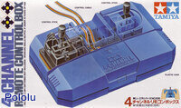 Box front for Tamiya 70106 4-Channel Remote Control Box.