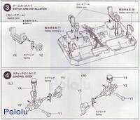 Instructions for Tamiya 70106 4-Channel Remote Control Box page2.