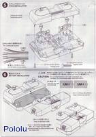 Instructions for Tamiya 70106 4-Channel Remote Control Box page3.