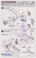 Instructions for Tamiya 75020 Line Tracing Snail Kit page 2.
