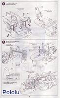 Instructions for Tamiya 75020 Line Tracing Snail Kit page3.