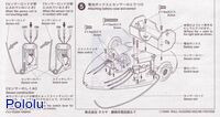 Instructions for Tamiya 70068 Wall-Hugging Mouse Kit page 2.