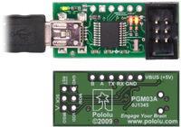 USB AVR programmer PGM03A.