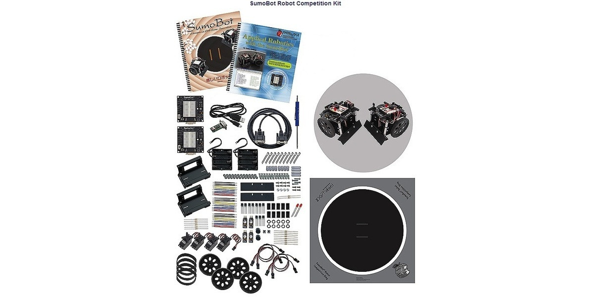 Pololu Parallax Sumobot Robot Competition Kit Serial With Usb