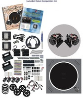 Parallax SumoBot Robot Competition Kit - Serial (with USB Adapter and Cable) #27402