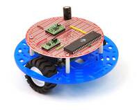"Pololu 5"" round robot chassis RRC04A with 3pi expansion board."