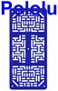 Pololu RP5/Rover 5 Expansion Plate RRC07A (Narrow) Solid Blue