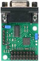 Pololu Serial 8-Servo Controller, top view.