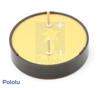 Bottom of Piezo Buzzer
