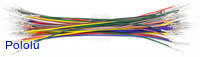 Wires with Pre-crimped Terminals 50-Piece Rainbow Assortment M-M 6""